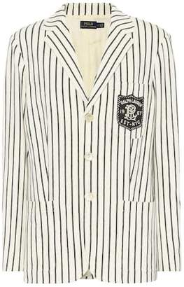Polo Ralph Lauren Striped cotton blazer
