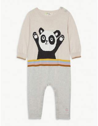 Bonnie Mob Panda cotton playsuit 0-18 months
