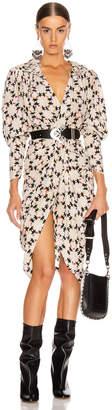 Isabel Marant Blandine Dress in Ecru | FWRD