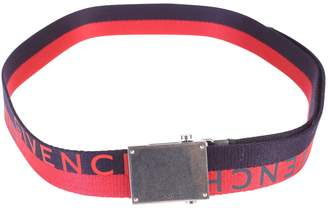 Givenchy Red And Blue Branded Belt