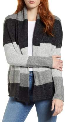 Caslon Shawl Collar Pattern Cardigan