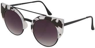 Topshop Carrey Browbar Sunglasses