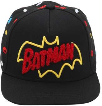 Batman Embroidered Cotton Baseball Hat