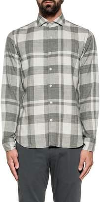 Xacus Dark Gray/light Gray Checked Shirt