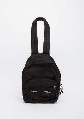 Vetements X Eastpak Mini Backpack $620 thestylecure.com
