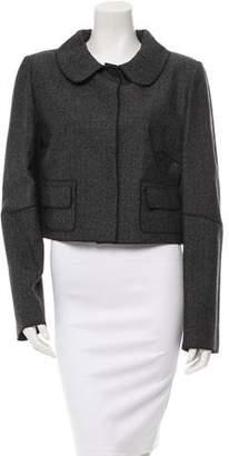 Dolce & Gabbana Cropped Wool Jacket w/ Tags