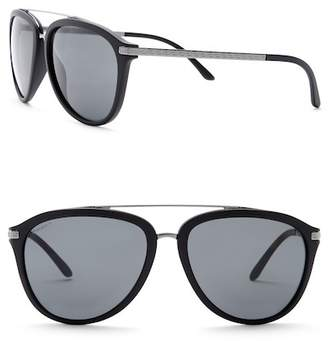 Versace 58mm Aviator Pilot Pop Chic Sunglasses