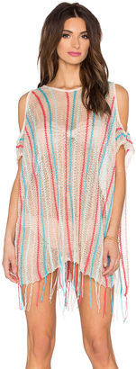 LSPACE Nightfall Beach Poncho $119 thestylecure.com