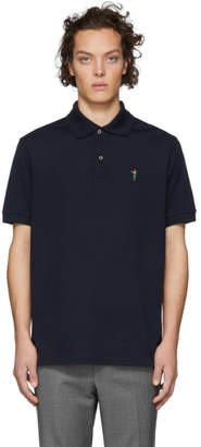 Paul Smith SSENSE Exclusive Navy Gents Polo