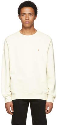 Frame White F Raglan Sweatshirt