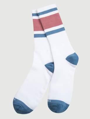Frame Denim Varsity Sock