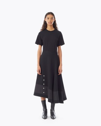3.1 Phillip Lim T-Shirt Dress With Flare Skirt