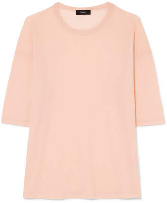 Theory Cashmere Sweater - Blush