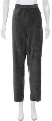 MICHAEL Michael Kors High-Rise Straight-Leg Pants