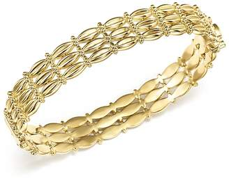 Temple St. Clair 18K Yellow Gold Vigna Bracelet with Diamond