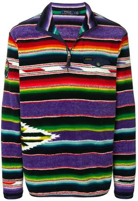 Polo Ralph Lauren striped zipped sweater