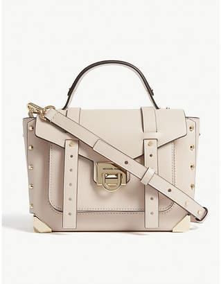 MICHAEL Michael Kors Manhattan leather satchel