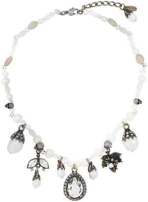 Alexander McQueen pearl charm necklace