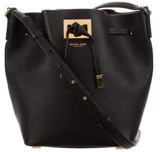 Michael Kors Miranda Leather Bucket Bag