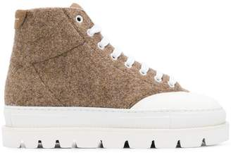 MM6 MAISON MARGIELA chunky lace-up trainers
