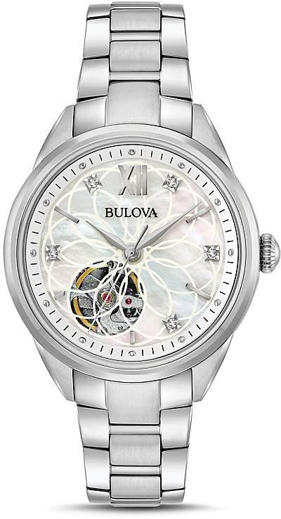 BulovaBulova Automatic Watch, 34.5mm