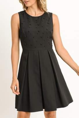 Gilli Black Beaded Dress