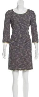 Cacharel Tweed Mini Dress