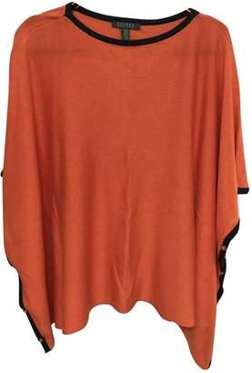 Lauren Ralph Lauren Orange Silk Knitwear for Women
