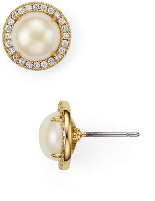 Kate Spade Pavé Halo Stud Earrings