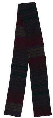 Etro Striped Wool Scarf