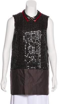 Marni Wool Sequin Top