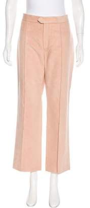 Isabel Marant High-Rise Micro-Suede Pants w/ Tags