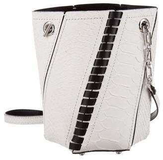 Proenza Schouler Python Hex Bucket Bag