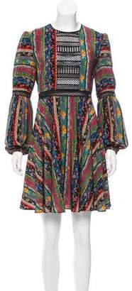 Philosophy di Lorenzo Serafini Printed Silk Dress