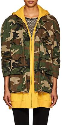R 13 Women's Abu Camouflage Cotton Field Jacket
