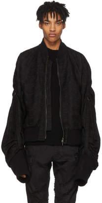 Ann Demeulemeester Black Jeremiah Bomber Jacket