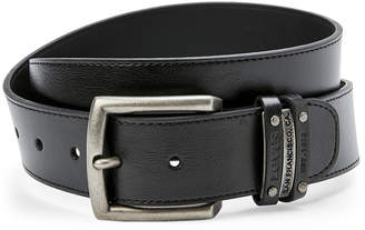 Levi's Black Double Keeper Belt