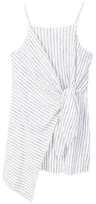 MANGO Knot asymmetric dress