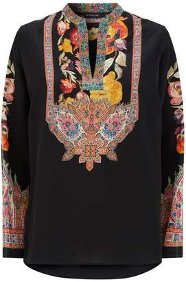8a478875ab64da Black Silk Top - ShopStyle UK