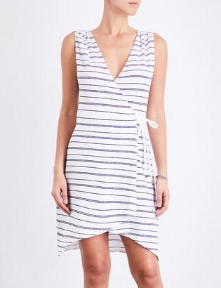 Heidi Klein Nassau jersey wrap dress $205 thestylecure.com