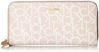 Calvin Klein Women's Mercury Leather Zip Around Wallet