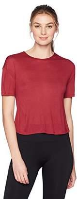 Alo Yoga Women's Entwine Short Sleeve Top