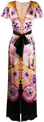 Temperley London printed long dress