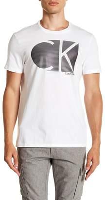 Calvin Klein Stripe Logo Tee