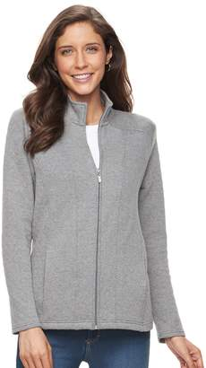 Croft & Barrow Women's Quilted Long Sleeve Jacket