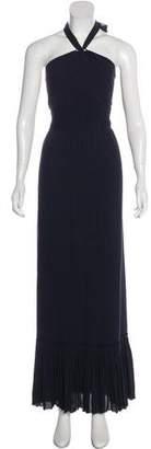 Tory Burch Silk Sleeveless Maxi Dress