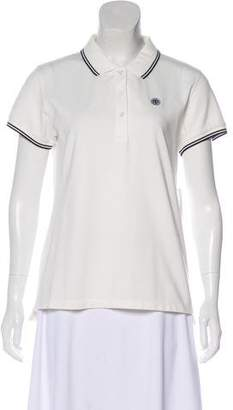 Tory Sport Short Sleeve Polo Top