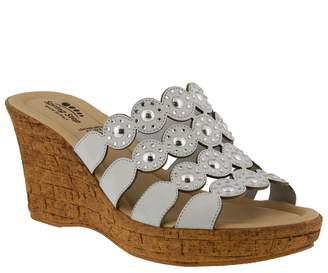 Spring Step Nubuck Slide Sandals - Alisma