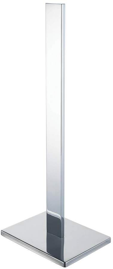 Haceka Edge Spare Toilet Roll Holder - Chrome