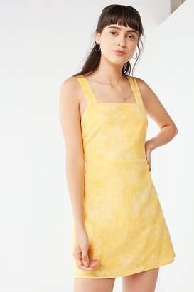 Urban Outfitters Tie Dye Linen Mini Dress